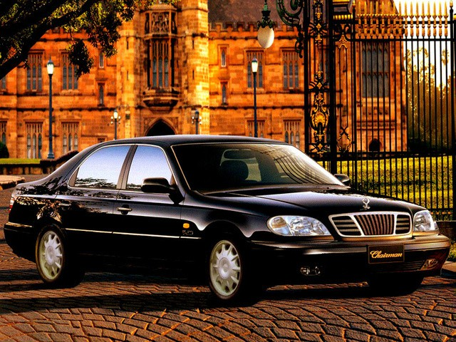 Daewoo Chairman седан, 1998–2001, W124 - отзывы, фото и характеристики на Car.ru