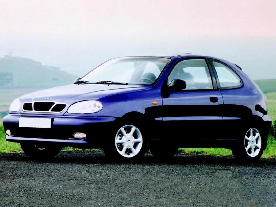 Daewoo Lanos хетчбэк 3-дв., 1997–2001, T100 - отзывы, фото и характеристики на Car.ru