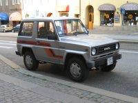 Daihatsu Rocky, 1 поколение, Hard top внедорожник, 1984–1987