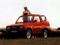 Daihatsu Feroza, 1 поколение, Soft top кабриолет, 1989–1994