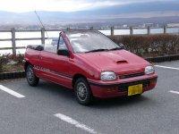 Daihatsu Leeza, 1 поколение, Кабриолет, 1986–1992