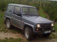 Daihatsu Rocky, 2 поколение, Hard top внедорожник, 1987–1992