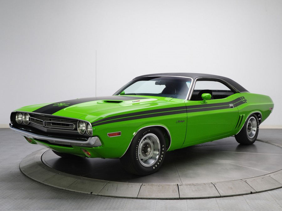 Dodge Challenger R/T купе 2-дв., 1971, 1 поколение [рестайлинг] - отзывы, фото и характеристики на Car.ru