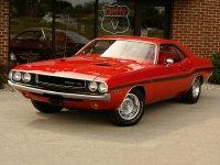 Dodge Challenger, 1970, 1 поколение, R/t купе 2-дв.
