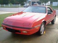 Dodge Daytona, 1 поколение, Хетчбэк, 1984–1993