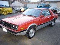 Dodge Challenger, 2 поколение [рестайлинг], Купе, 1981–1984