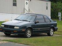 Dodge Shadow, 1 поколение, Хетчбэк 3-дв., 1990–1995