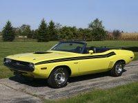 Dodge Challenger, 1971, 1 поколение [рестайлинг], Кабриолет