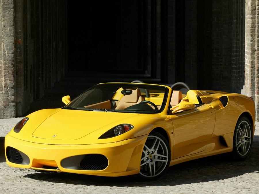 Ferrari F430 Spider родстер, 2004–2009, 1 поколение - отзывы, фото и характеристики на Car.ru