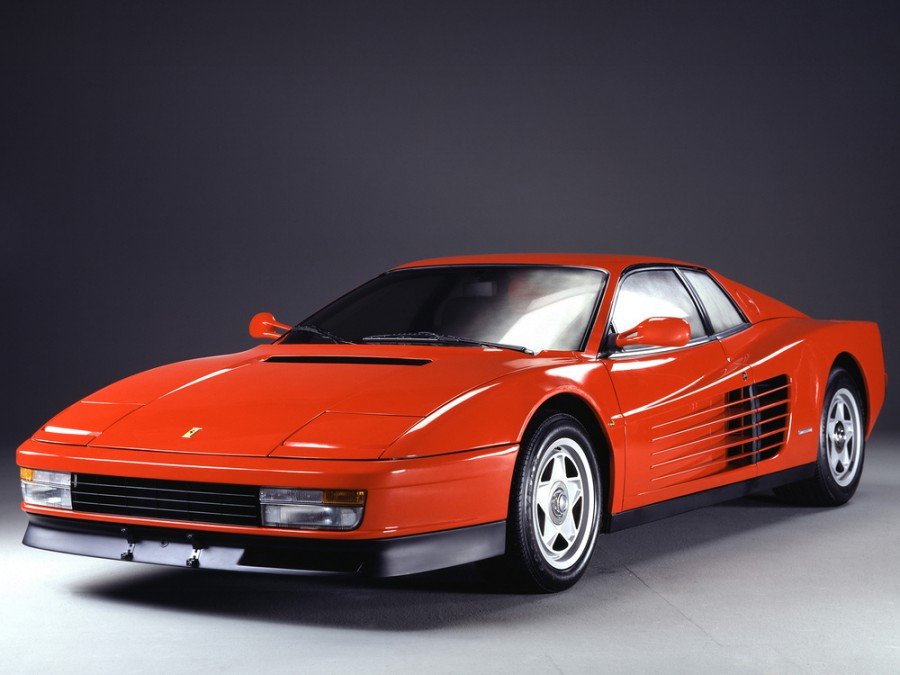 Ferrari Testarossa купе, 1984–1991, 1 поколение - отзывы, фото и характеристики на Car.ru