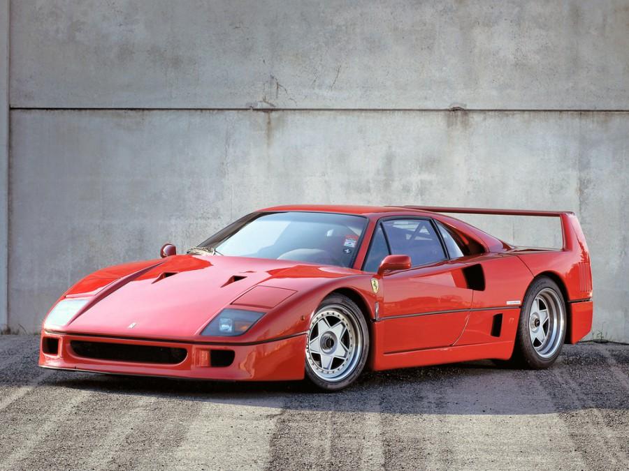 Ferrari F40 купе, 1987–1992, 1 поколение - отзывы, фото и характеристики на Car.ru
