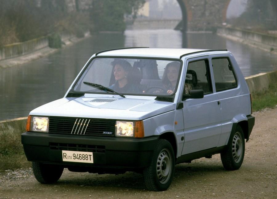 Fiat Panda хетчбэк, 1986–2002, 1 поколение [рестайлинг] - отзывы, фото и характеристики на Car.ru