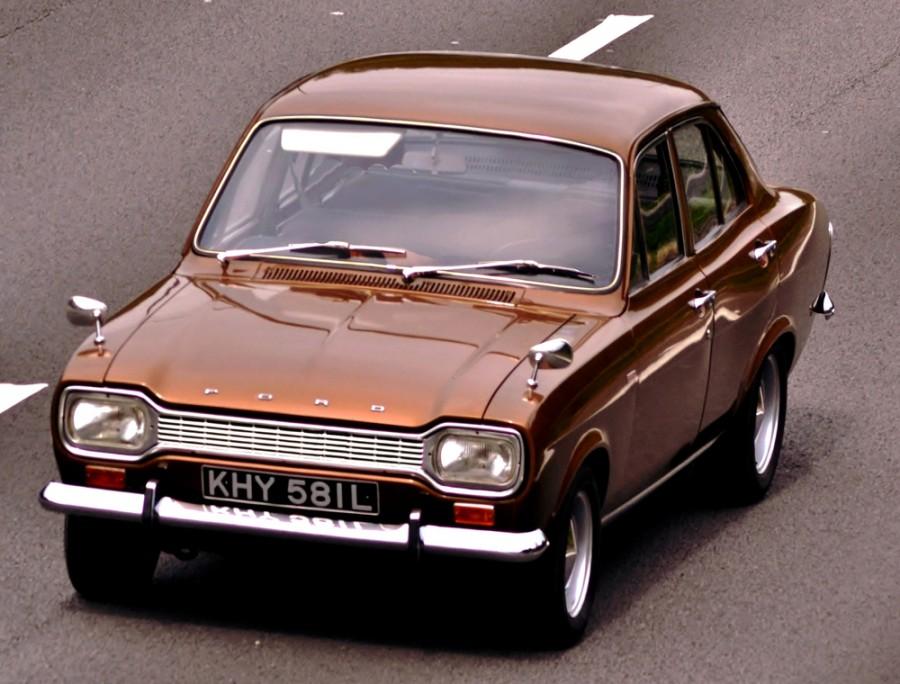 Ford Escort седан, 1968–1974, 1 поколение - отзывы, фото и характеристики на Car.ru