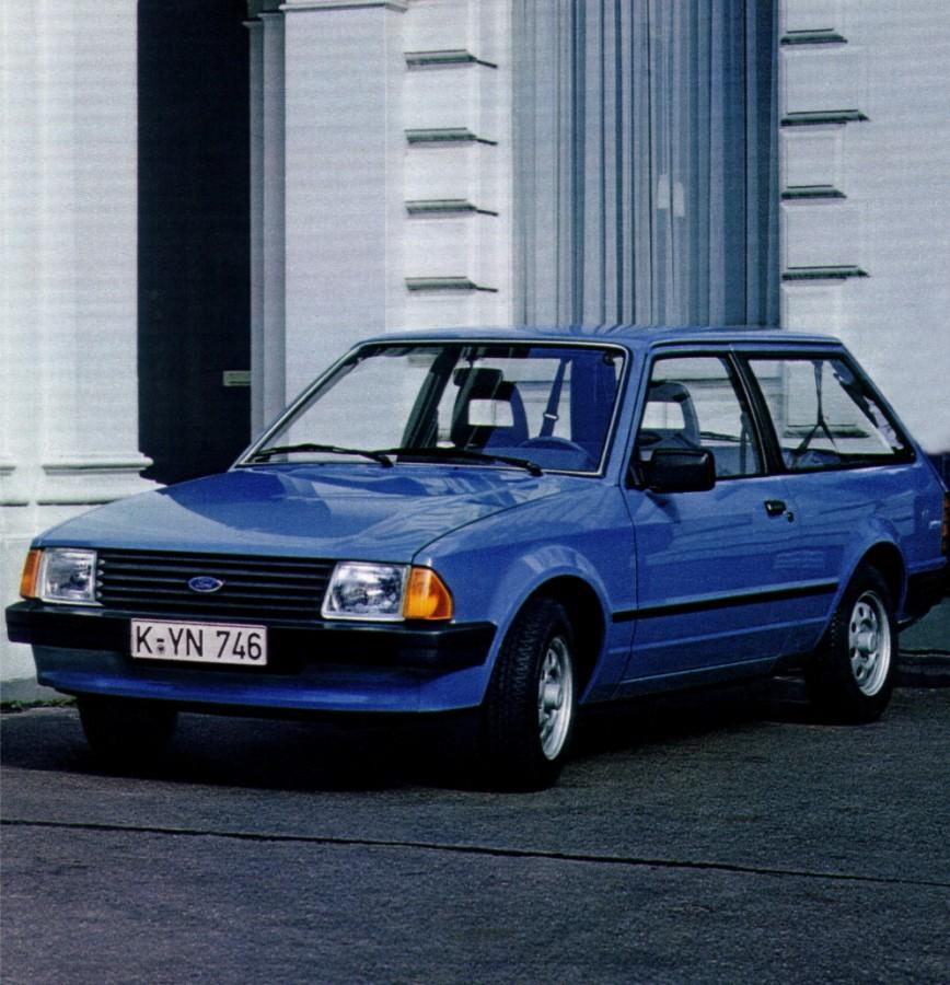 Ford Escort универсал 3-дв., 1980–1986, 3 поколение - отзывы, фото и характеристики на Car.ru