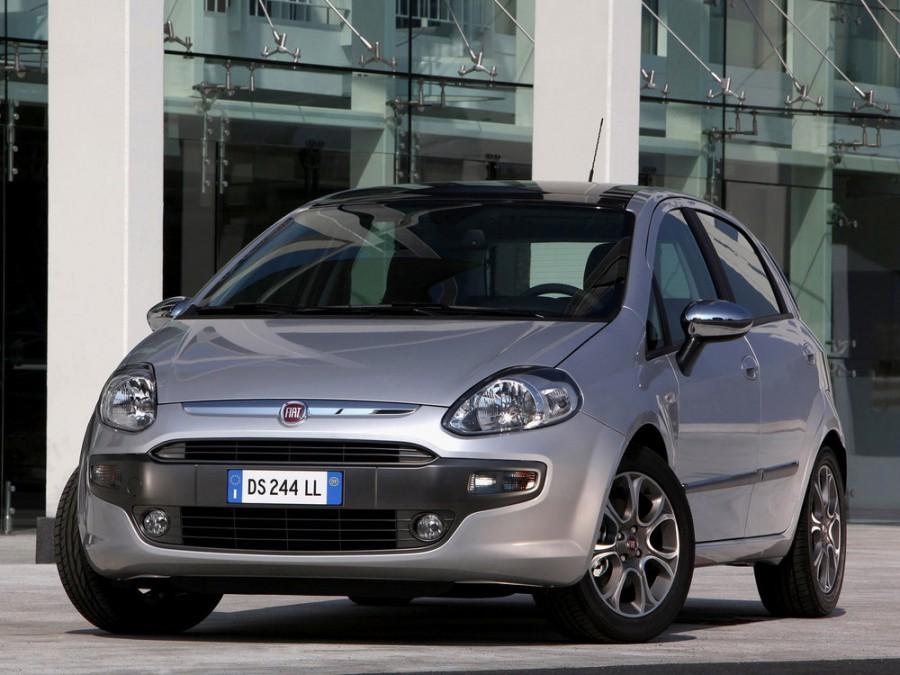 Fiat Punto Evo хетчбэк 5-дв., 2005–2012, 3 поколение - отзывы, фото и характеристики на Car.ru