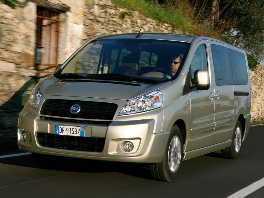 Fiat Scudo микроавтобус 4-дв., 2007–2016, 2 поколение - отзывы, фото и характеристики на Car.ru
