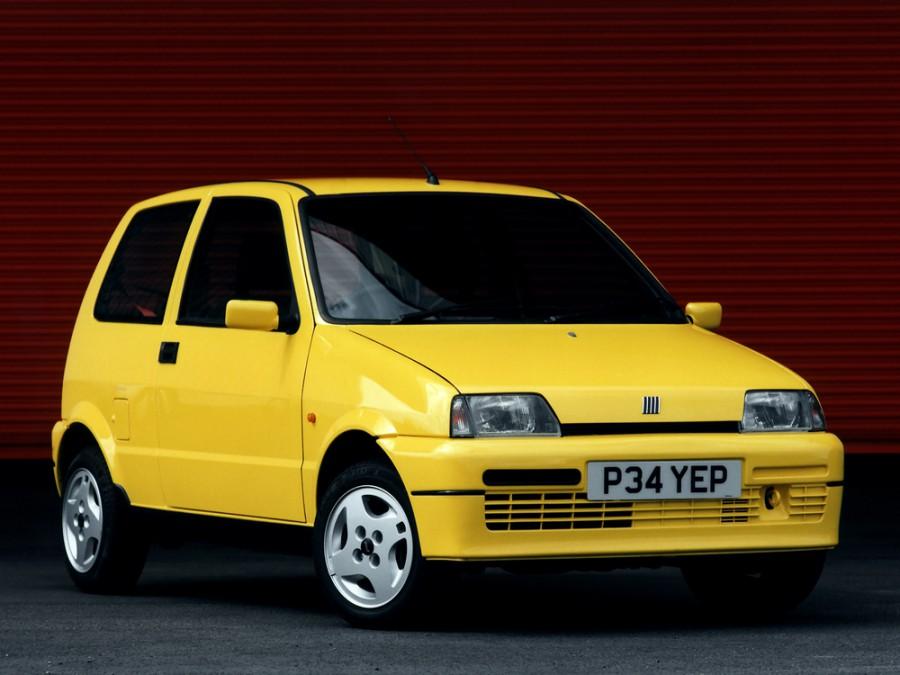 Fiat Cinquecento хетчбэк, 1991–1998, 1 поколение - отзывы, фото и характеристики на Car.ru