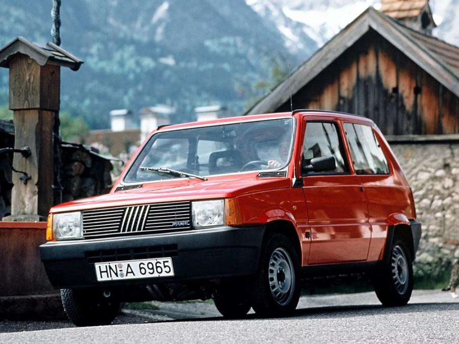 Fiat Panda хетчбэк, 1980–1986, 1 поколение - отзывы, фото и характеристики на Car.ru