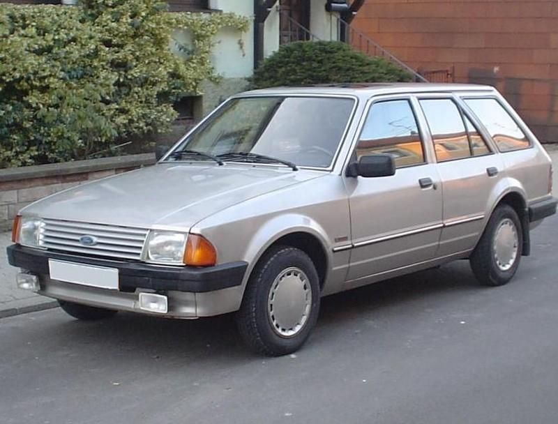 Ford Escort универсал 5-дв., 1980–1986, 3 поколение - отзывы, фото и характеристики на Car.ru