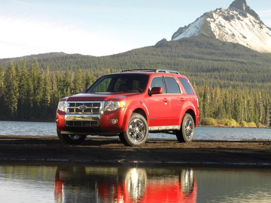 Ford Escape кроссовер, 2007–2012, 2 поколение - отзывы, фото и характеристики на Car.ru