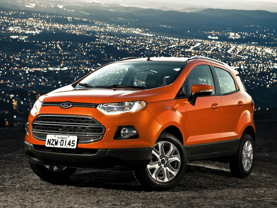 Ford EcoSport кроссовер, 2013–2016, 2 поколение - отзывы, фото и характеристики на Car.ru