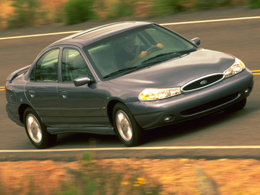 Ford Contour седан, 1998–2000, 2 поколение - отзывы, фото и характеристики на Car.ru