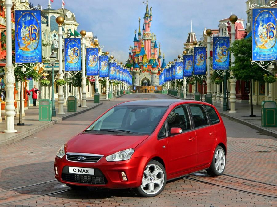 Ford C-MAX минивэн, 2007–2010, 1 поколение [рестайлинг] - отзывы, фото и характеристики на Car.ru