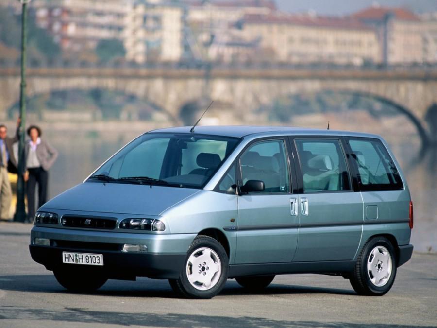 Fiat Ulysse минивэн, 1994–2002, 1 поколение - отзывы, фото и характеристики на Car.ru