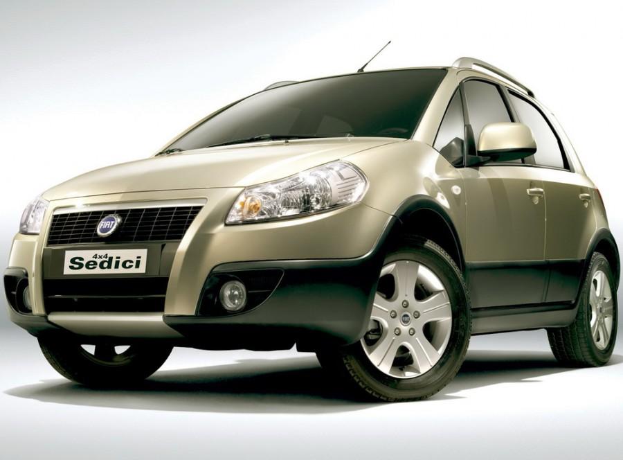 Fiat Sedici кроссовер, 2009–2016, 1 поколение [рестайлинг] - отзывы, фото и характеристики на Car.ru