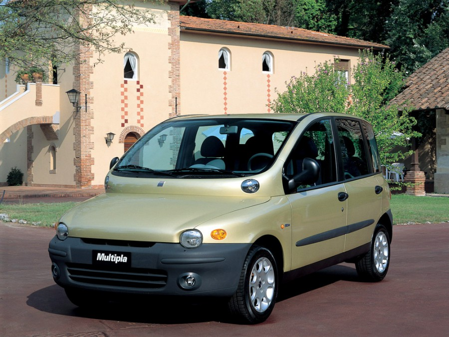 Fiat Multipla минивэн, 1999–2004, 1 поколение - отзывы, фото и характеристики на Car.ru