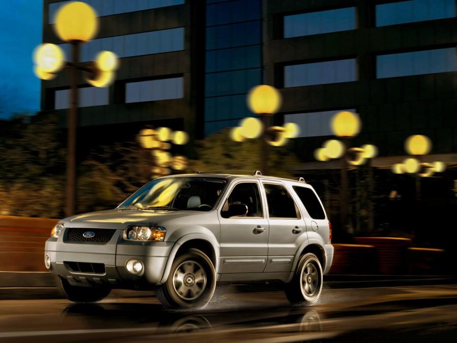 Ford Escape кроссовер 5-дв., 2004–2007, 1 поколение [рестайлинг] - отзывы, фото и характеристики на Car.ru