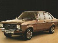 Ford Escort, 2 поколение [рестайлинг], Седан, 1978–1981