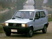 Fiat Panda, 1 поколение [рестайлинг], Хетчбэк, 1986–2002