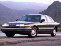 Ford Crown Victoria, 1 поколение, Седан, 1990–1999