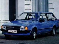 Ford Escort, 3 поколение, Универсал 3-дв., 1980–1986
