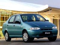 Fiat Siena, 1 поколение [рестайлинг], Седан, 2001–2004