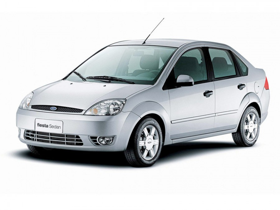 Ford Fiesta седан, 2002–2007, 5 поколение - отзывы, фото и характеристики на Car.ru