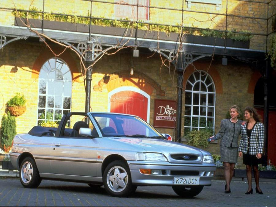 Ford Escort кабриолет, 1992–1995, 5 поколение [рестайлинг] - отзывы, фото и характеристики на Car.ru