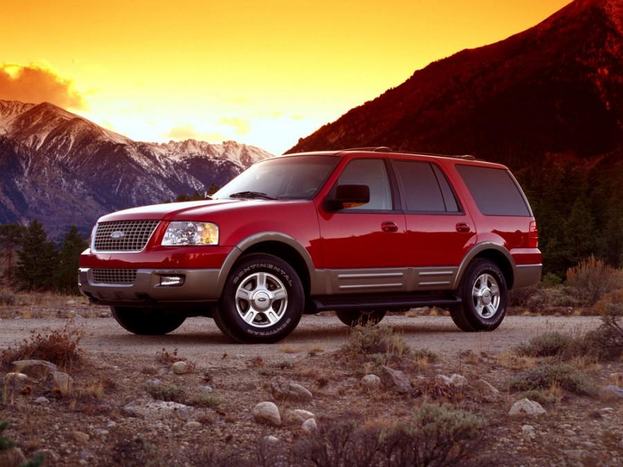 Ford Expedition внедорожник, 2003–2006, 2 поколение - отзывы, фото и характеристики на Car.ru