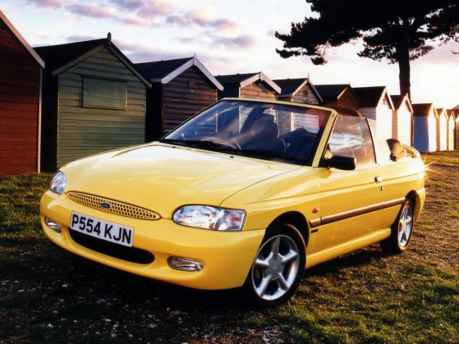 Ford Escort кабриолет, 1995–2000, 6 поколение - отзывы, фото и характеристики на Car.ru