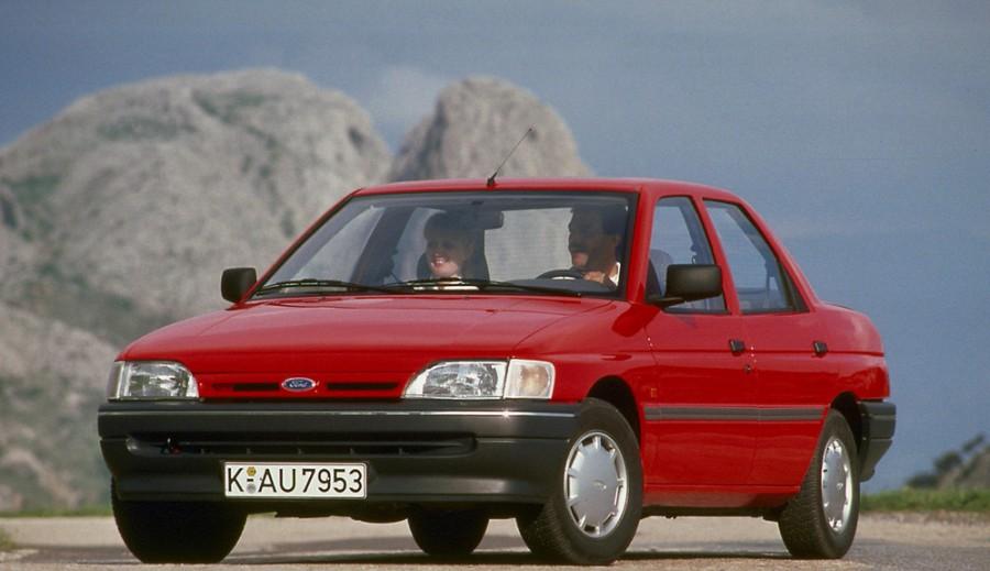 Ford Escort седан, 1990–1992, 5 поколение - отзывы, фото и характеристики на Car.ru