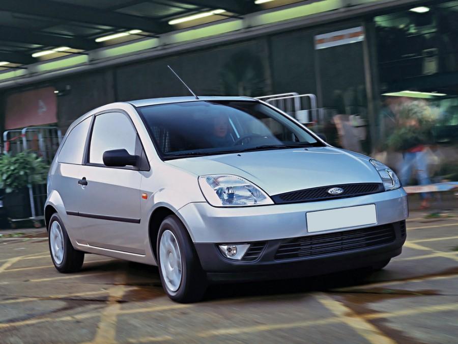 Ford Fiesta Van фургон, 2002–2007, 5 поколение - отзывы, фото и характеристики на Car.ru
