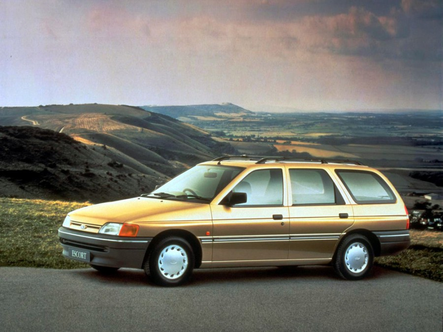 Ford Escort универсал, 1990–1992, 5 поколение - отзывы, фото и характеристики на Car.ru