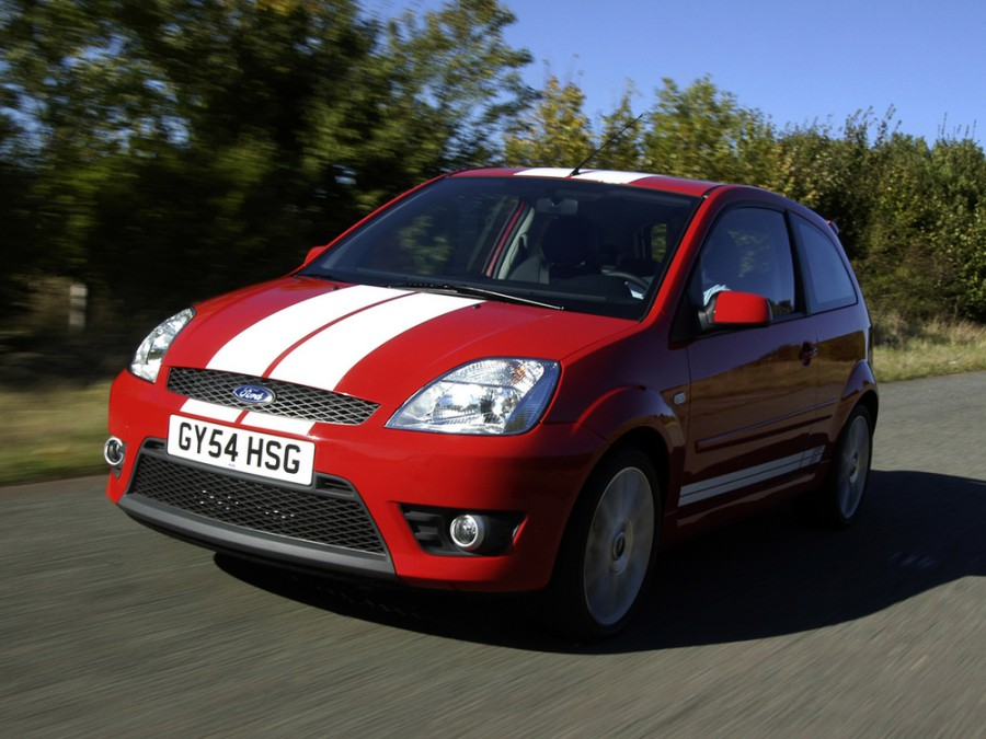 Ford Fiesta ST хетчбэк 3-дв., 2002–2007, 5 поколение - отзывы, фото и характеристики на Car.ru