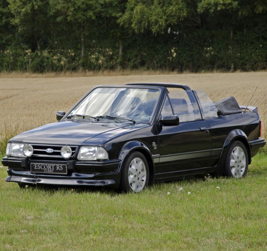 Ford Escort RS кабриолет 2-дв., 1980–1986, 3 поколение - отзывы, фото и характеристики на Car.ru