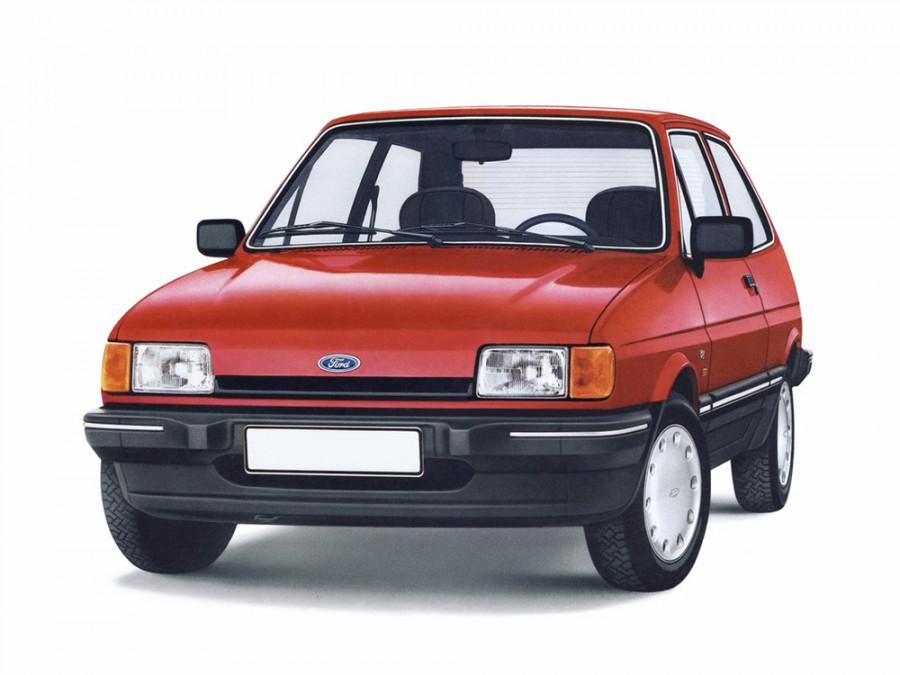 Ford Fiesta хетчбэк 3-дв., 1983–1989, 2 поколение - отзывы, фото и характеристики на Car.ru