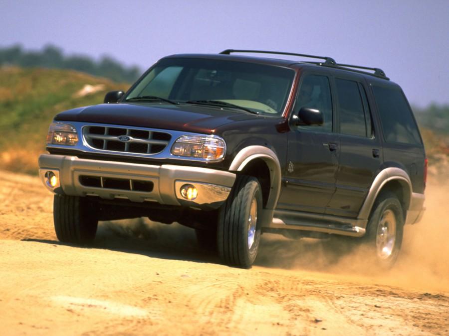 Ford Explorer внедорожник 5-дв., 1999–2001, 2 поколение [рестайлинг] - отзывы, фото и характеристики на Car.ru