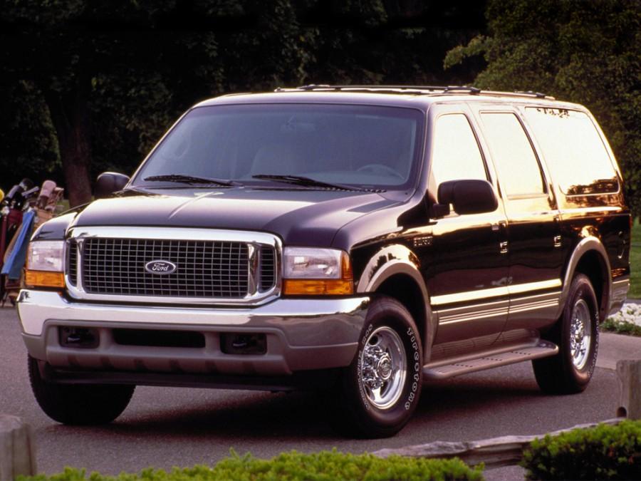 Ford Excursion внедорожник, 1999–2005, 1 поколение - отзывы, фото и характеристики на Car.ru