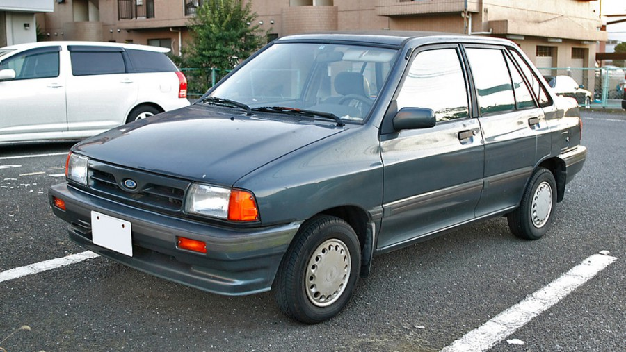 Ford Festiva хетчбэк 5-дв., 1986–1993, 1 поколение - отзывы, фото и характеристики на Car.ru