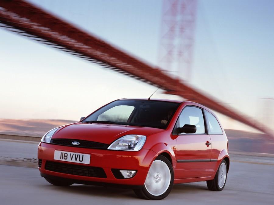 Ford Fiesta хетчбэк 3-дв., 2002–2007, 5 поколение - отзывы, фото и характеристики на Car.ru